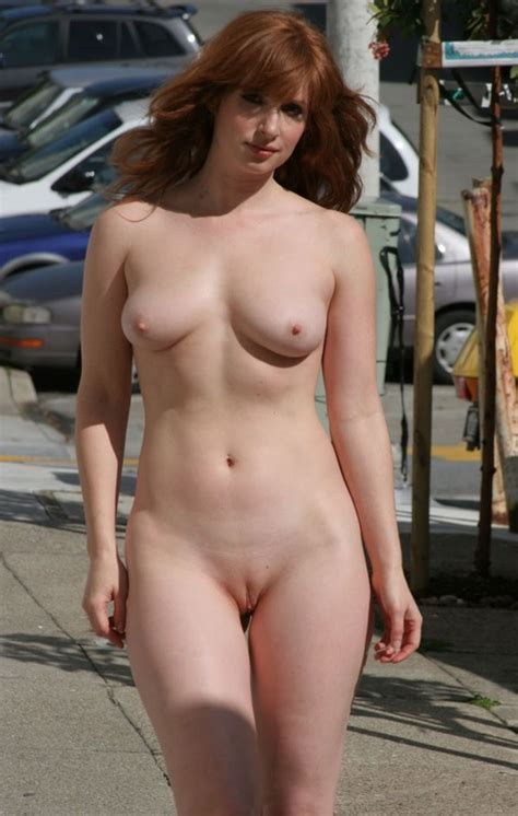 Walking Down The Sidewalk Nude Porn Photo Eporner