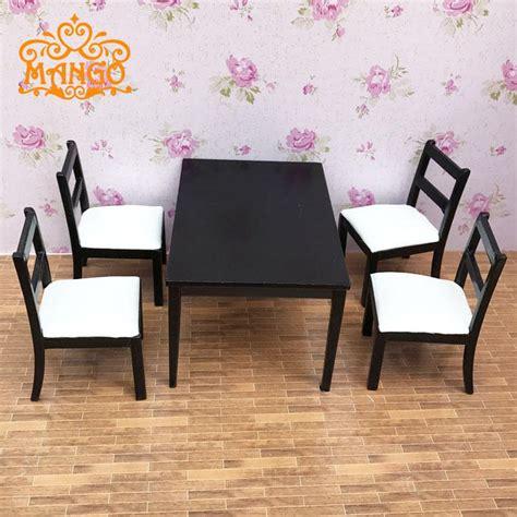dollhouse dining room furniture set pcs dining black