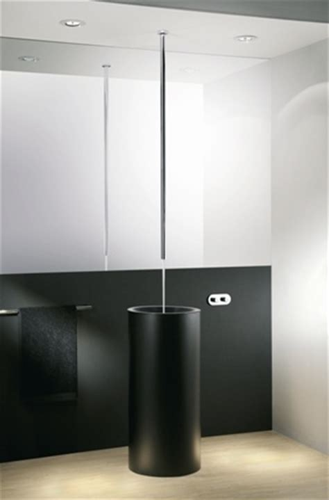 canali ceiling spout  remote wall mounted mixing