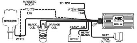 msd 9150 ignition kit digital 6al 2 distributor wires blaster ss coil sbc 702730425596 ebay