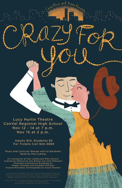 conval drama presents crazy gershwin musical