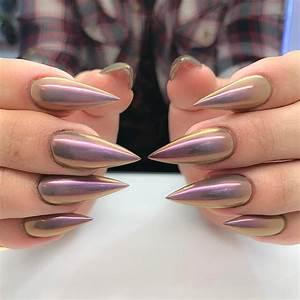 21 stunning chrome nail ideas to rock the nail