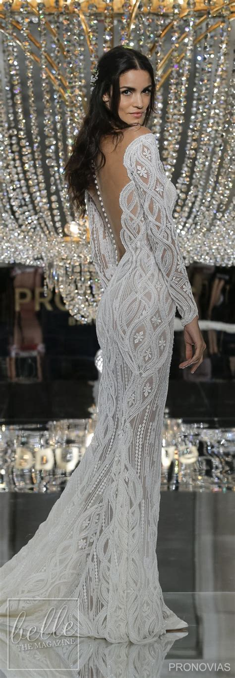 wedding dresses by pronovias 2018 collection new york