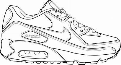 Coloring Nike Pages Shoe Sheet Popular