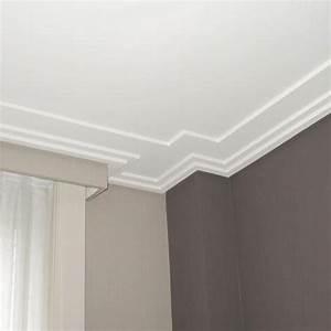 Corniche Plafond Platre : corniche moulure de plafond luxxust orac decor pour deco ~ Edinachiropracticcenter.com Idées de Décoration