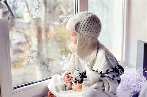 Fensterdeko Weihnachten Falten by Bezaubernde Winter Fensterdeko Zum Selber Basteln