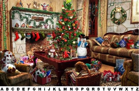 find  hidden letters christmas quiz  myitbos