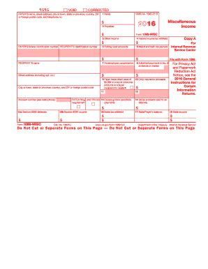 form m 3 2016 2016 form irs 1099 misc fill online printable fillable