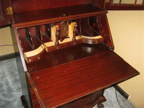 drop front desk with hutch antique drop front desk with hutch antique