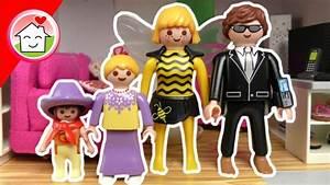 playmobil familie hauser in 3 fasching