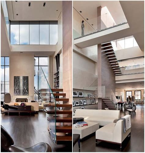New York Loft Wsuper Light Stairs!  Architecture