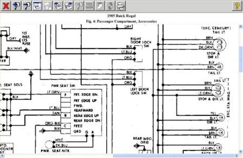 1985 Buick Century Wiring Diagram 1985 buick regal need to identify brake light power wire on