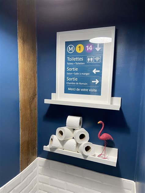 affiche toilettes affiche toilette toilettes renovation maison