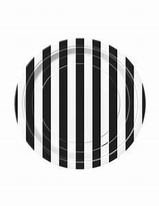 Teller Set Schwarz : retro teller pappteller set 8 st ck schwarz weiss 18cm g nstige faschings partydeko zubeh r ~ Whattoseeinmadrid.com Haus und Dekorationen