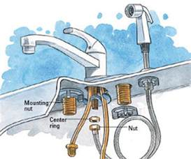 how to install kitchen sink faucet how to install a kitchen faucet happily after etc