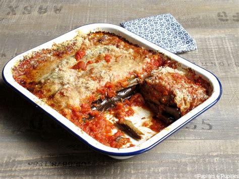 cuisiner les aubergines au four aubergines à la parmigiana façon oliver