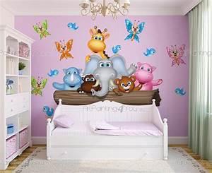 Wandtattoo Kinderzimmer Dschungel : wandtattoo wandsticker kinderzimmer dschungel tiere 1979de ~ Orissabook.com Haus und Dekorationen