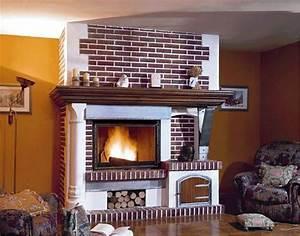 Cheminée En Brique : chemin e brique photo 3 15 chemin e en brique robuste ~ Farleysfitness.com Idées de Décoration