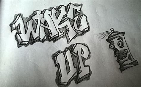 Graffiti Pensil : Daydreamer's Graffiti Art