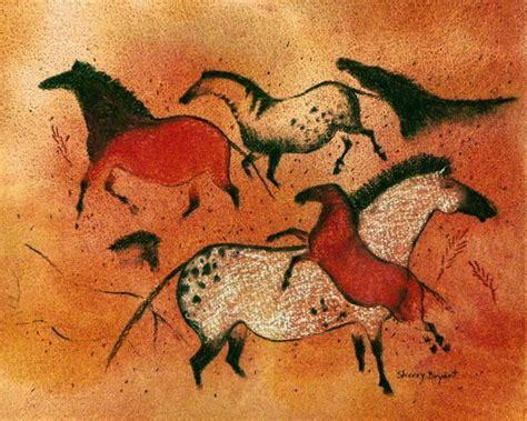 big horse cave art painting  sherry bryant tucson