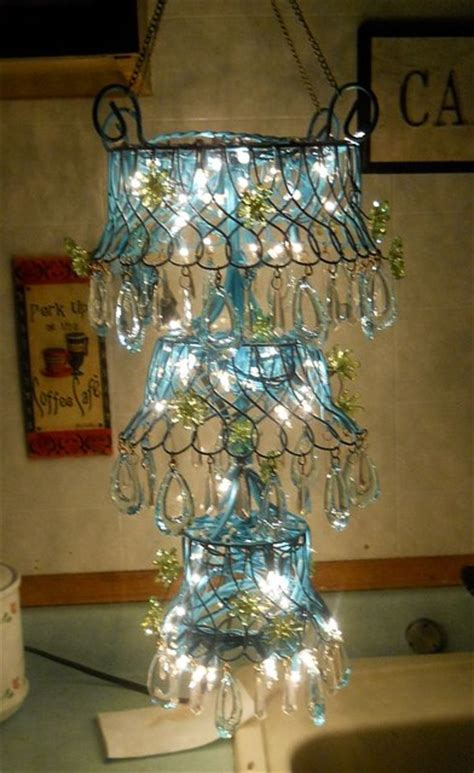 diy outdoor chandelier for gazebo eclectic