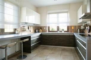 Small L Shaped Kitchen Designs With Island Cuisine En U Ouverte Pour Tout Espace 60 Photos Et Conseils