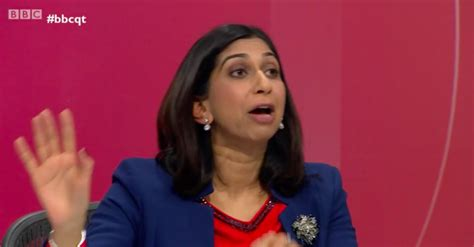 Question Time: Brexiteer Suella Braverman raises eyebrows ...