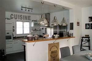 Decoration bar cuisine americaine for Decoration maison cuisine americaine