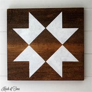 The Lazy Girl39s Guide To Make A Farmhouse Barn Quilt Block