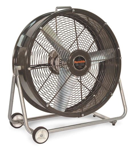 industrial fans direct com cf portable cooler tilt drum fan 2 speed 24 inch 3800 cfm