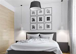 Black And White Wall Decor For Bedroom Ideas