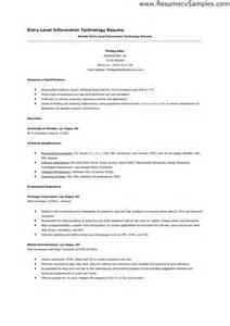 information technology resume layouts exles of hyperbole sle of entry level information technology resume how to pinterest entry level