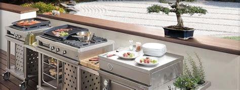 cuisine été cuisine extérieure bien préparer projet habitatpresto