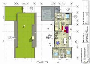 Créer Son Propre Plan De Maison Gratuit : plan maison plain pied 2 chambres sans garage fk99 ~ Premium-room.com Idées de Décoration