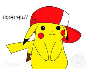 Pikachu with Hat