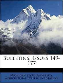 bulletins issues   michigan state university