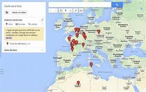 Comment Ouvrir Une Agence De Carte Grise : comment cr er une carte sur google map avec excel ~ Medecine-chirurgie-esthetiques.com Avis de Voitures