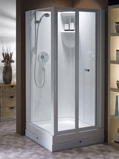 Walk In Corner Shower Units by Shower Pods Douglas Uk Easyfit Corner Shower Pod