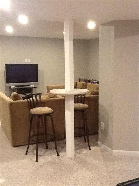ideas  basement pole covers  pinterest