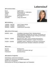 latest resume format free download 2015 video lebenslauf muster