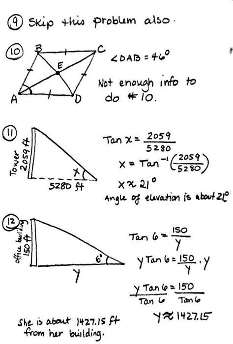 13 Best Images Of Trig Word Problems Worksheet  Right Triangle Word Problems Worksheet, Angle