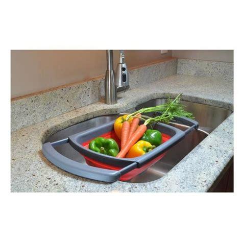 égouttoir panier à légumes fruits en silicone passoire
