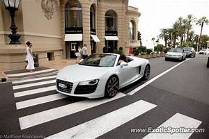 Audi Monaco : audi r8 spotted in monaco monaco on 09 18 2012 ~ Gottalentnigeria.com Avis de Voitures