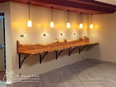 wooden kitchen island wood countertops live edge wood slabs