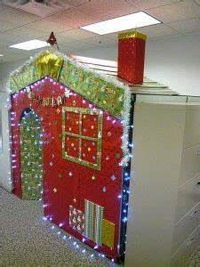 1000 images about Christmas cubicle decorating on