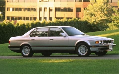 1990 Bmw 7 Series  Information And Photos Zombiedrive