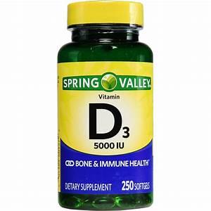 Spring Valley  Vitamin D