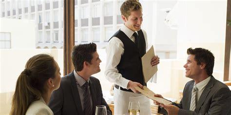 techno bureau le service du repas au restaurant l 39 importance des mots