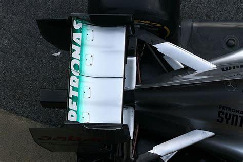 Nel disegno di giorgio piola, pubblicato una decina di giorni fa sul equipe, viene mostrato il complicato passaggio di aria che avviene nella mercedes quando il drs entra in funzione. Red Bull and Lotus to protest Mercedes f-duct - Page 4 ...