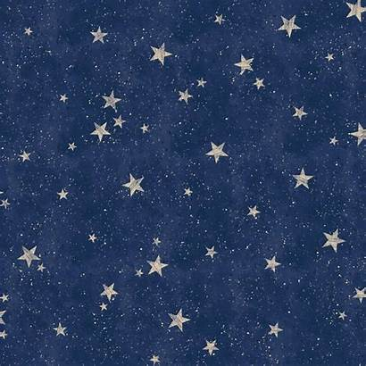 Navy Stars Gold Star Crown Starlight Metallic
